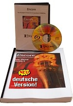 Encore 5 Windows Mac Handbuch CD-ROM