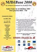MIDIBase 2000 Automatische Midifile Datenbank