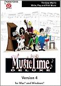 MusicTime zum Schreiben von Musiknoten